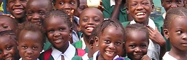 Kinderen van een Nursery School